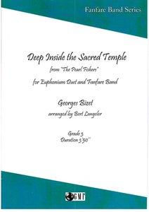 """Euphonium Duet """"Deep Inside the Sacred Temple"""" Georges Bizet, voor fanfare Bert Langeler"""